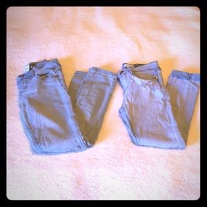 Girls size 10 jeans lot